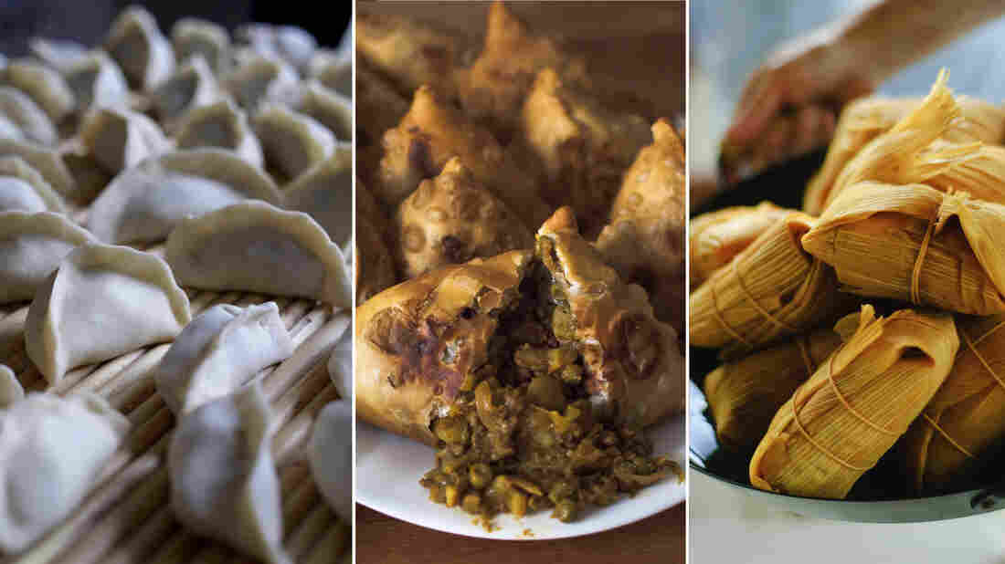 Which of these are dumplings?