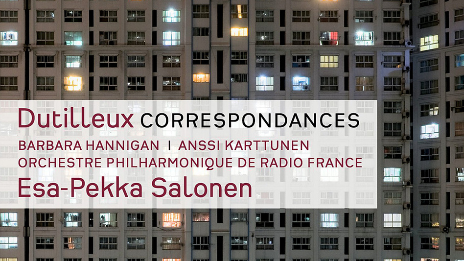 The album cover for Dutilleux' Correspondances and other works, which won the Contemporary prize at the 2013 Gramophone Awards. (courtesy of Deutsche Grammophon)