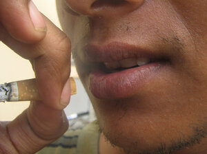 Almost all adult smokers say they got their start before age 18.