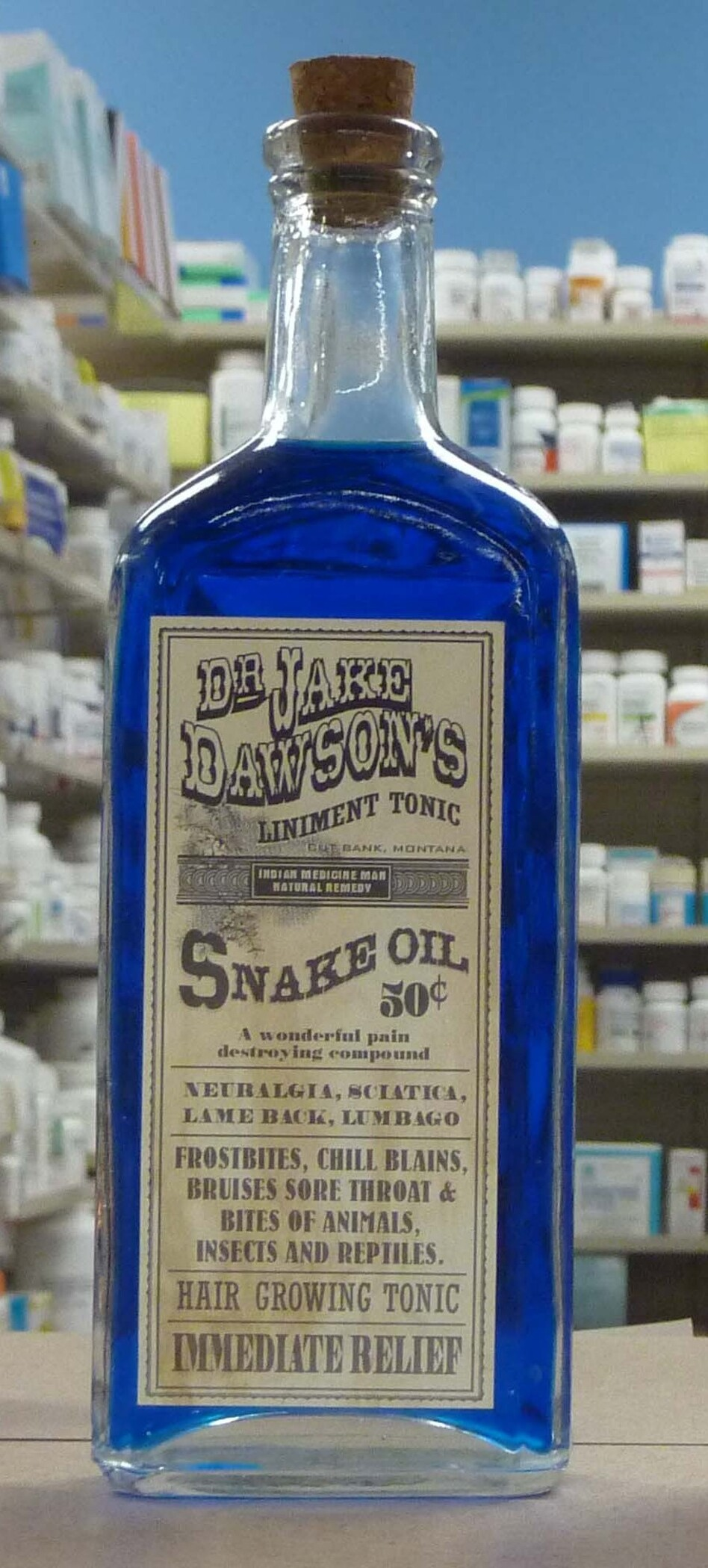 Made from the oil of the Chinese water snake, which is rich in the omega-3 acids that help reduce inflammation, snake oil in its original form was effective, especially when used to treat arthritis and bursitis. (Jagrap/Flickr)