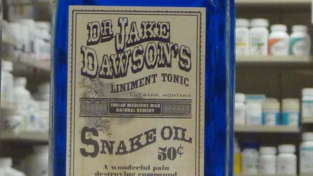 d96be49bb53 A History Of  Snake Oil Salesmen    Code Switch   NPR