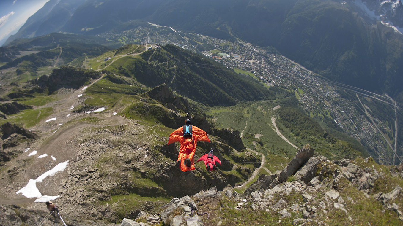 wingsuit flying incredible thrill    chance    npr