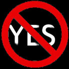 Saying no to yes.