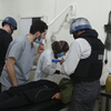 U.N. chemical weapons experts on Monday visited people hospitalized by an apparent gas attack last week in suburban Damascus. Although residents of the capital city have grown accustomed to war over the past two years, they say they are concerned about a possible U.S. military strike.