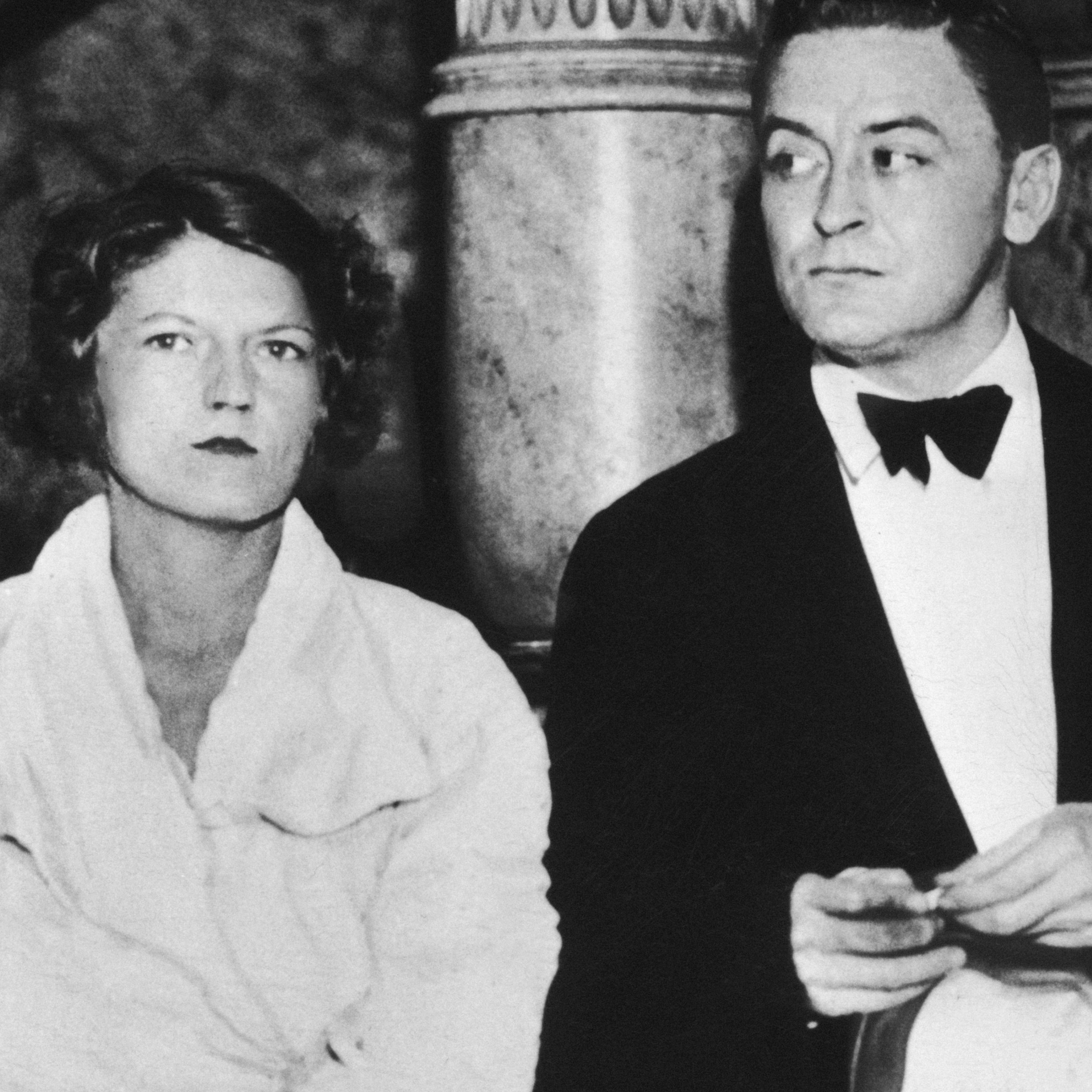 The Fitzgeralds attend a formal event, circa 1935.