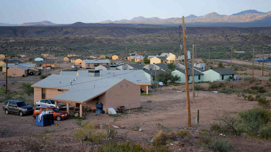 Unemployment is high and most families live well below the federal poverty line in San Carlos, Ariz. Firefighting jobs are one of only a few ways for many young men here to earn a living.