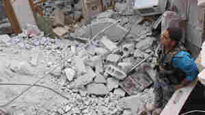 'Syrian Regime Is Responsible,' White House Says Of Attack