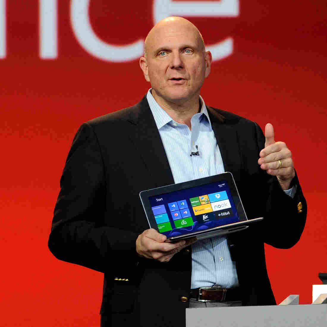 """Microsoft CEO Steve Ballmer oversaw a system called """"stack ranking,"""" which employees have called toxic."""