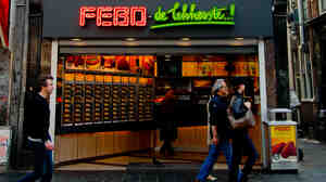 The Febo snack bar is open all night.