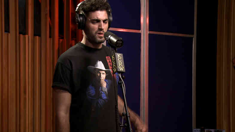 Daughn Gibson performs live on KCRW's Morning Becomes Eclectic.