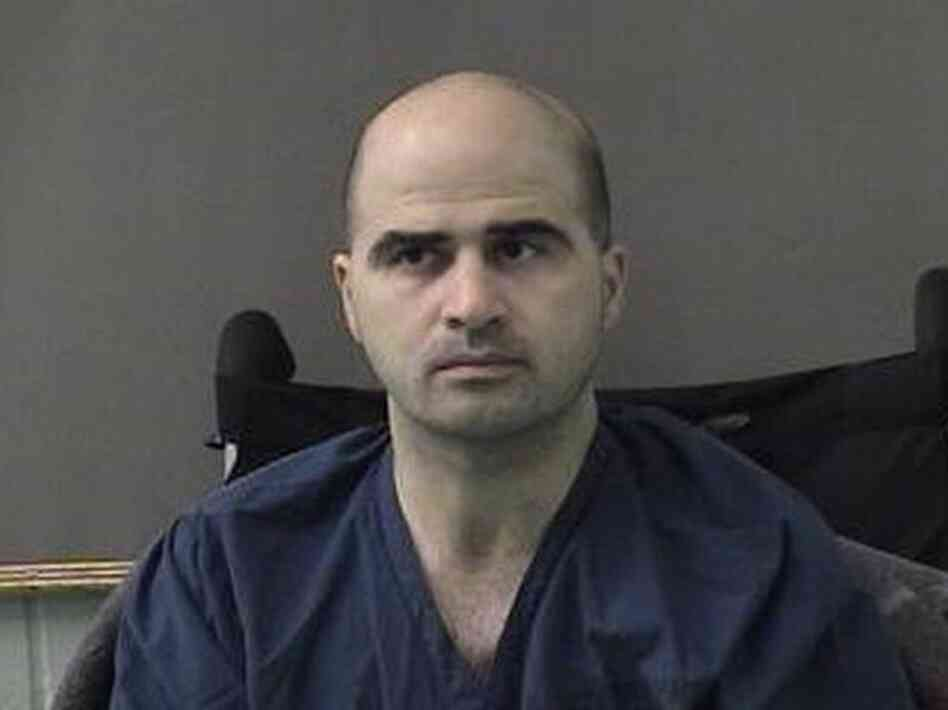 Nidal Hasan, seen here in 2010, has been sentenced to death for