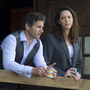 Eric Bana and Rebecca Hall play lawyerly allies with a complicated past — one that threatens to increase their present peril — in the surveillance-state thriller Closed Circuit.