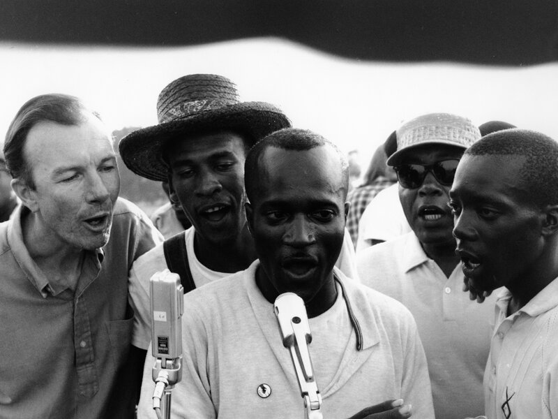 The Inspiring Force Of We Shall Overcome Npr