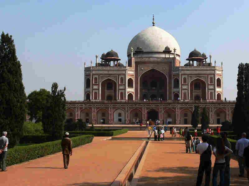 Humayan's Tomb, a 16th-century Mughal garden tomb that helped inspire the Taj Mahal, is one of several UNESCO World Heritage sites in Delhi.