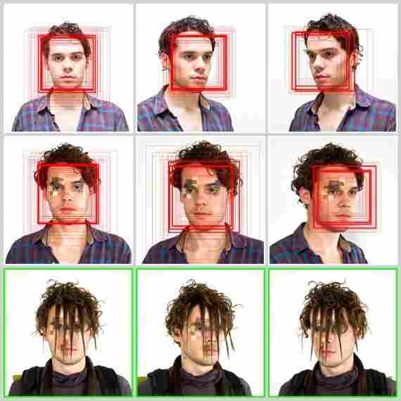 'CV Dazzle' is designed to camouflage a face from face-detection technology.