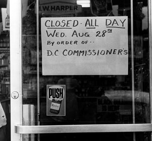 All Washington, D.C., liquor stores were closed on Aug. 28, 1963. While Maury Landsman's parents, who owned a liquor store, stayed home that day, he was determined to participate in the march.