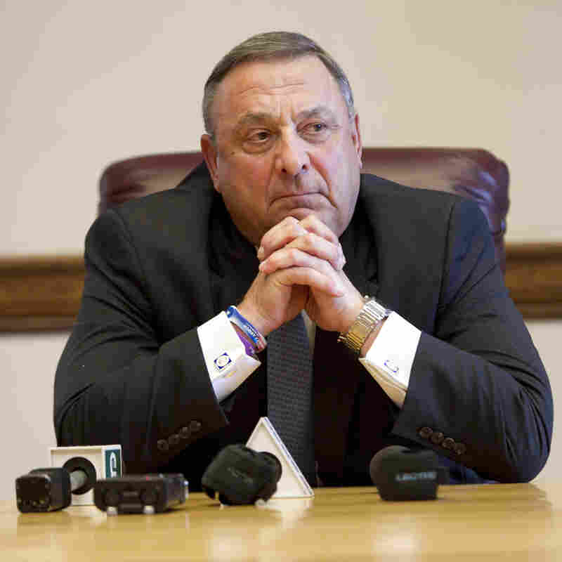 Maine Governor's Rough And Rude Style Clouds His Future