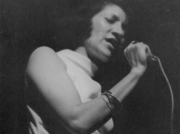 Sathima Bea Benjamin in 1974.