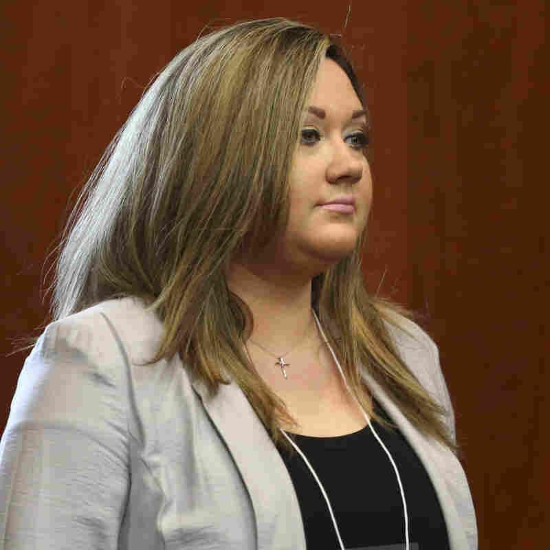 Shellie Zimmerman in court on June 20.