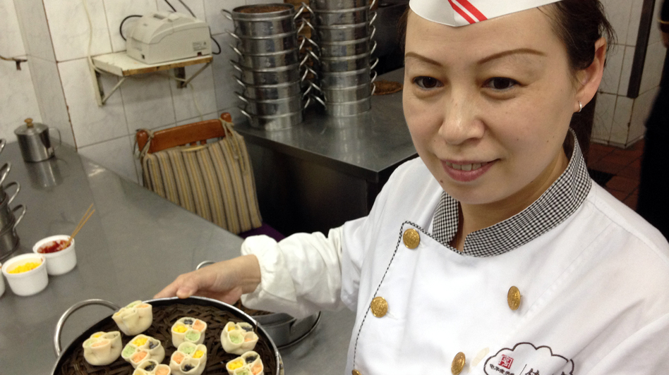 Dumpling Master: Chef Ma Shunli has been preparing dumplings at the Defachang restaurant since she was teenager. (NPR)