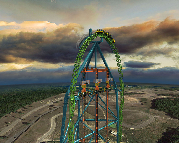 Six Flags Says World's 'Tallest Drop Ride' To Open In 2014