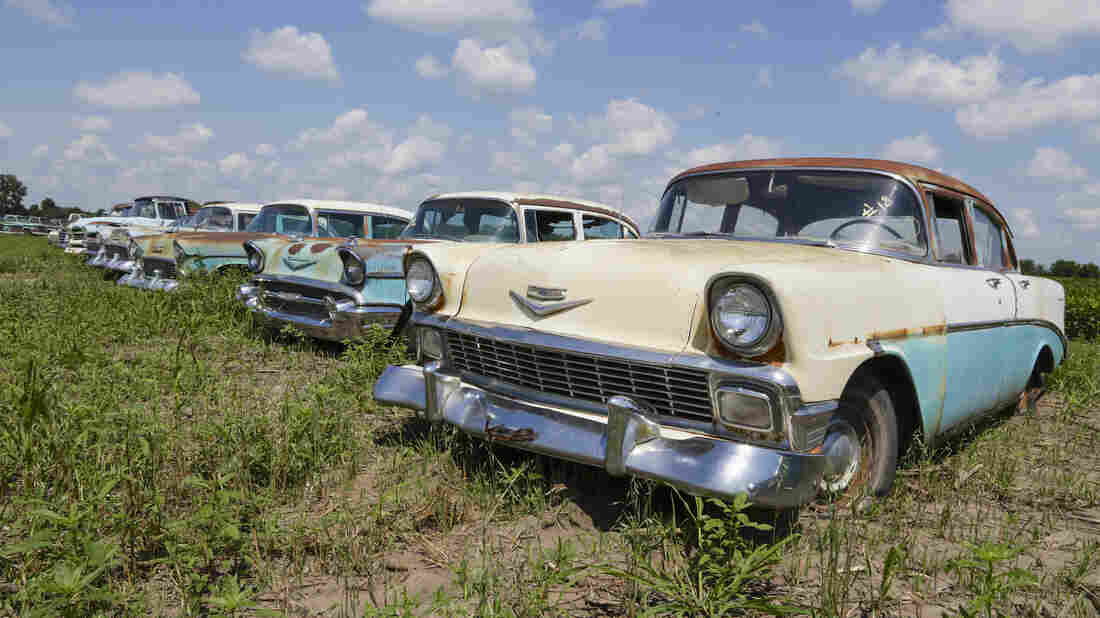 Under Dust And Rust, \'New\' Classic Cars Go Up For Auction : NPR