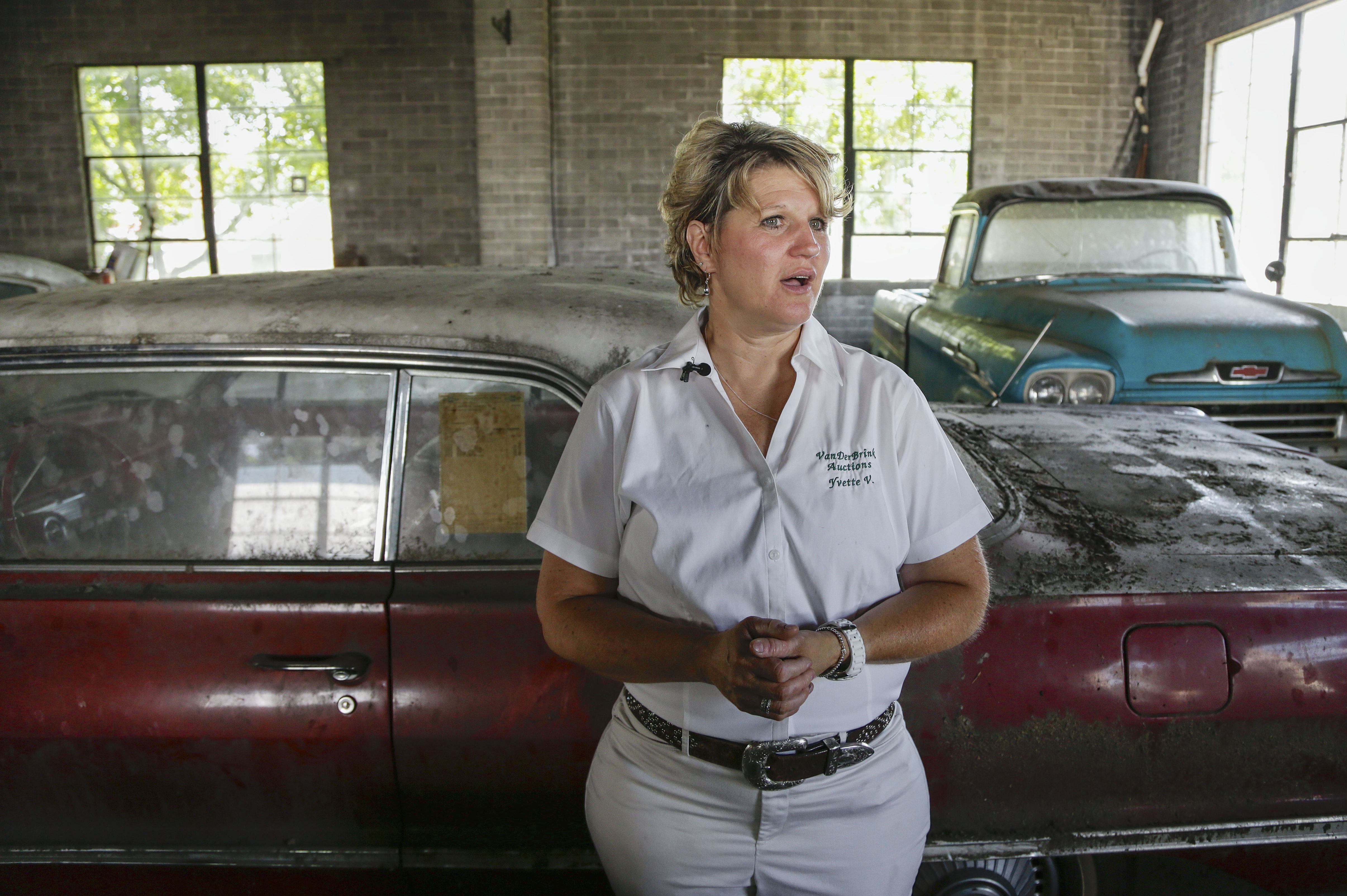 Under Dust And Rust, 'New' Classic Cars Go Up For Auction