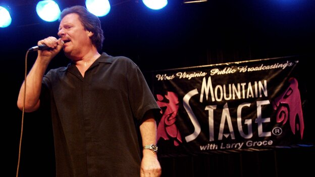 Texas blues favorite Delbert McClinton performed on Mountain Stage.