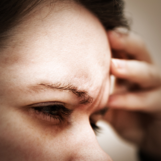 About 10 percent of people get migraines, which can interfere with work and home life.