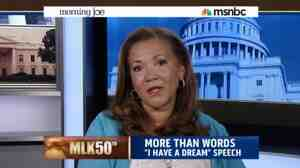 NPR's Michele Norris on Morning Joe. She joined the MSNBC program on the 50th anniversary of the March on Washington.