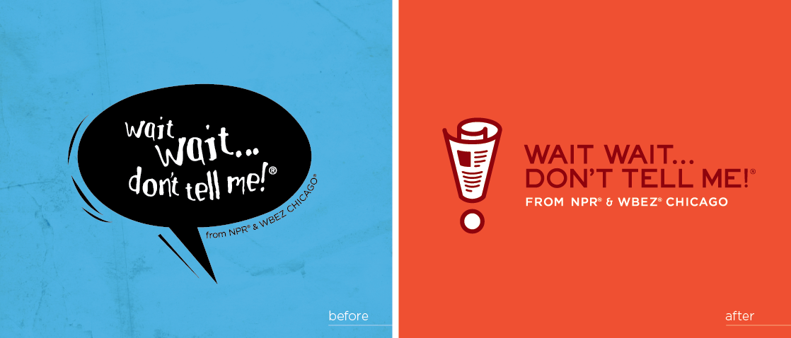 Helping Hands Of America >> Love And Logos: 'Wait Wait... Don't Tell Me!' Gets A New ...