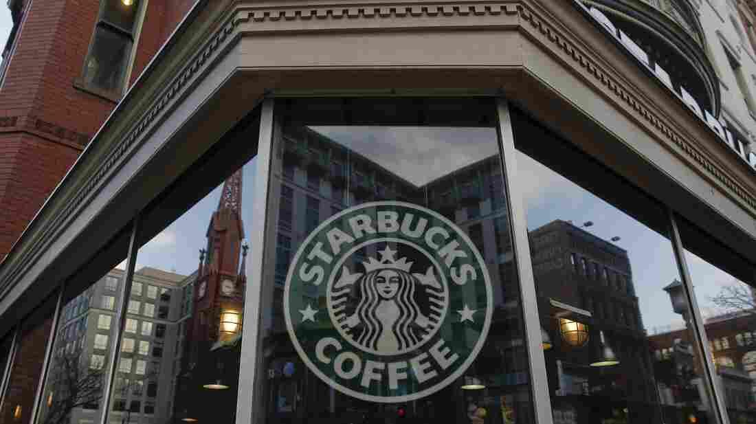 A Starbucks coffee shop.