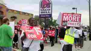 Largest Strike So Far By Fast-Food Workers Set For Thursday