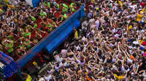 Spain's Tomato Festival Shrinks, As Town Pares Crowd Size