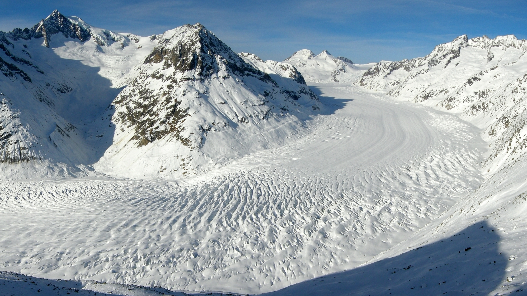 Pollution, Not Rising Temperatures, May Have Melted Alpine Glaciers