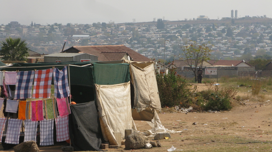 Diepsloot is a township north of Johannesburg, abutting the kind of smallholdings area where fictional detective Jade de Jong found her first case. (NPR)