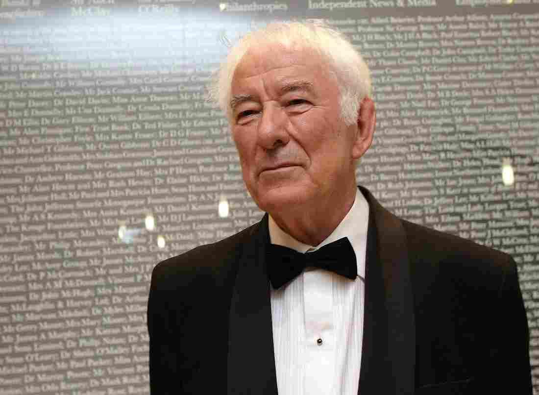Irish poet Seamus Heaney in 2010.