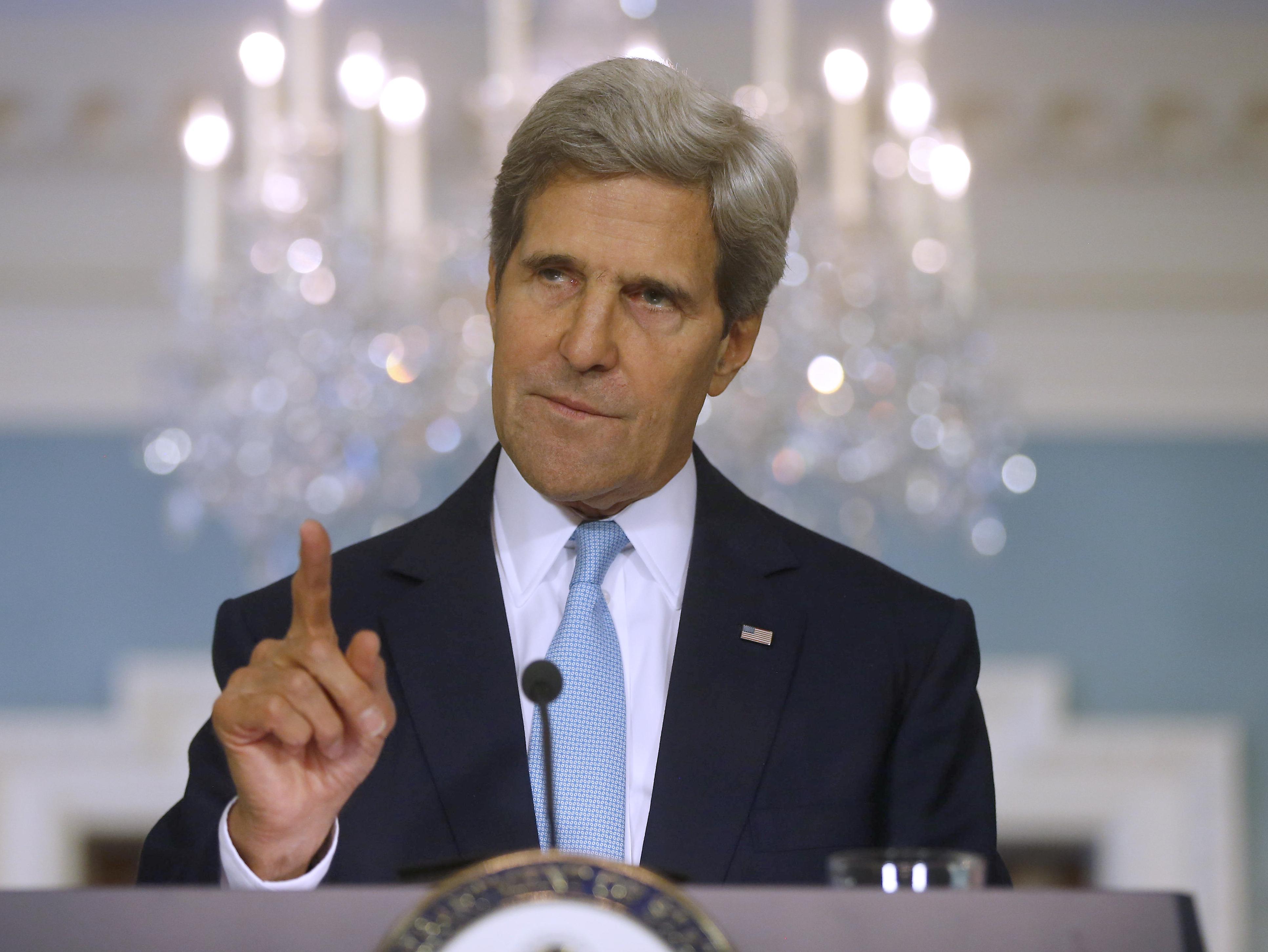 John Kerry 2013 Secretary of state john kerry