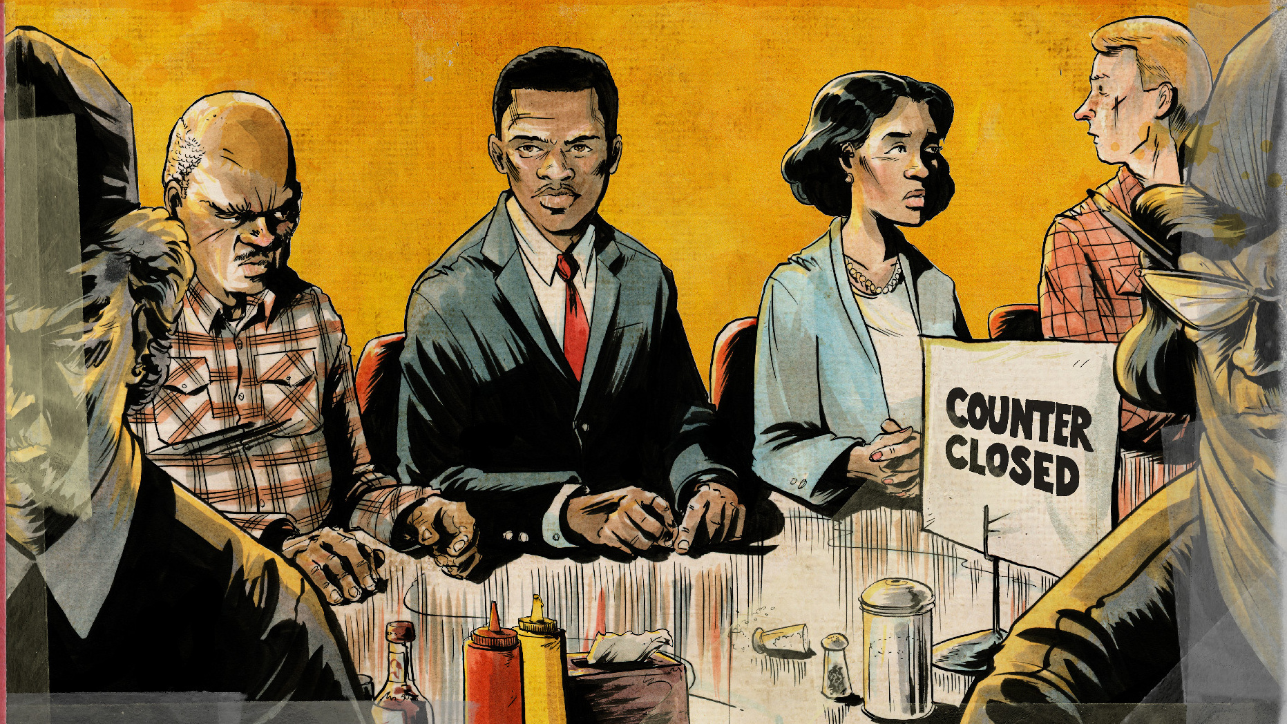 John Lewis' 'March' Toward Justice Depicted In Graphic Novel ...