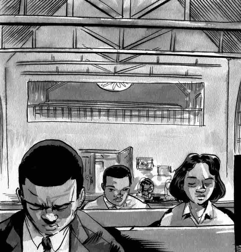 """""""... how we could apply nonviolence just as Dr. King did in Montgomery, all across America — South and North."""" Click here to see the full page."""