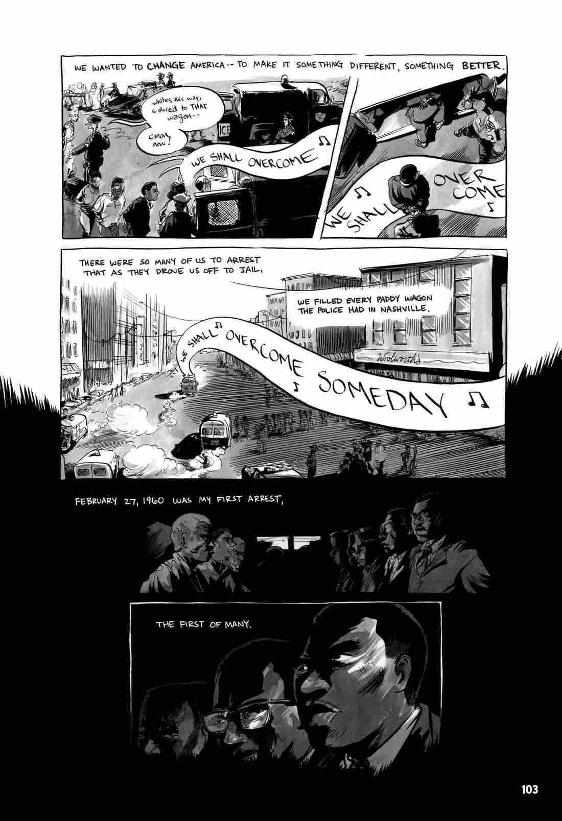 Page 103 of March Book One