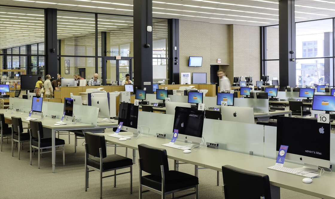Treadmill Desks in Libraries
