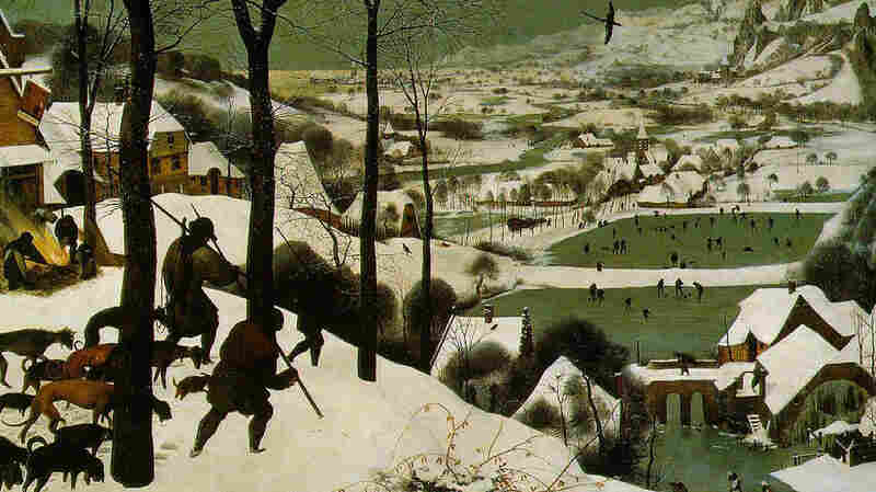 "The Little Ice Age brought colder, snowier winters to Europe, starting in about 1550. Many paintings at the time documented the climate change, including Pieter Bruegel's ""Hunters in the Snow,"" painted in 1565."