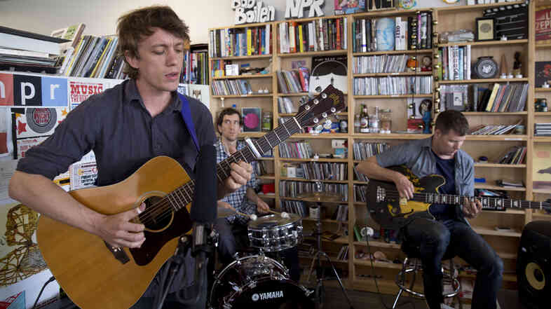 Steve Gunn performs at a Tiny Desk Concert on July 1, 2013.