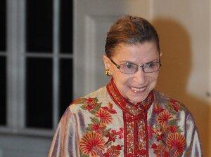 Supreme Court Justice Ruth Ba