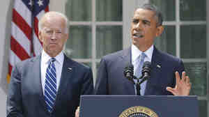 At the White House Saturday, President Obama said he would seek congressional approval before taking action in Syria.