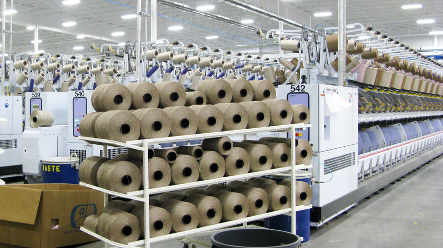 new carpet factories help cushion s from recession losses npr