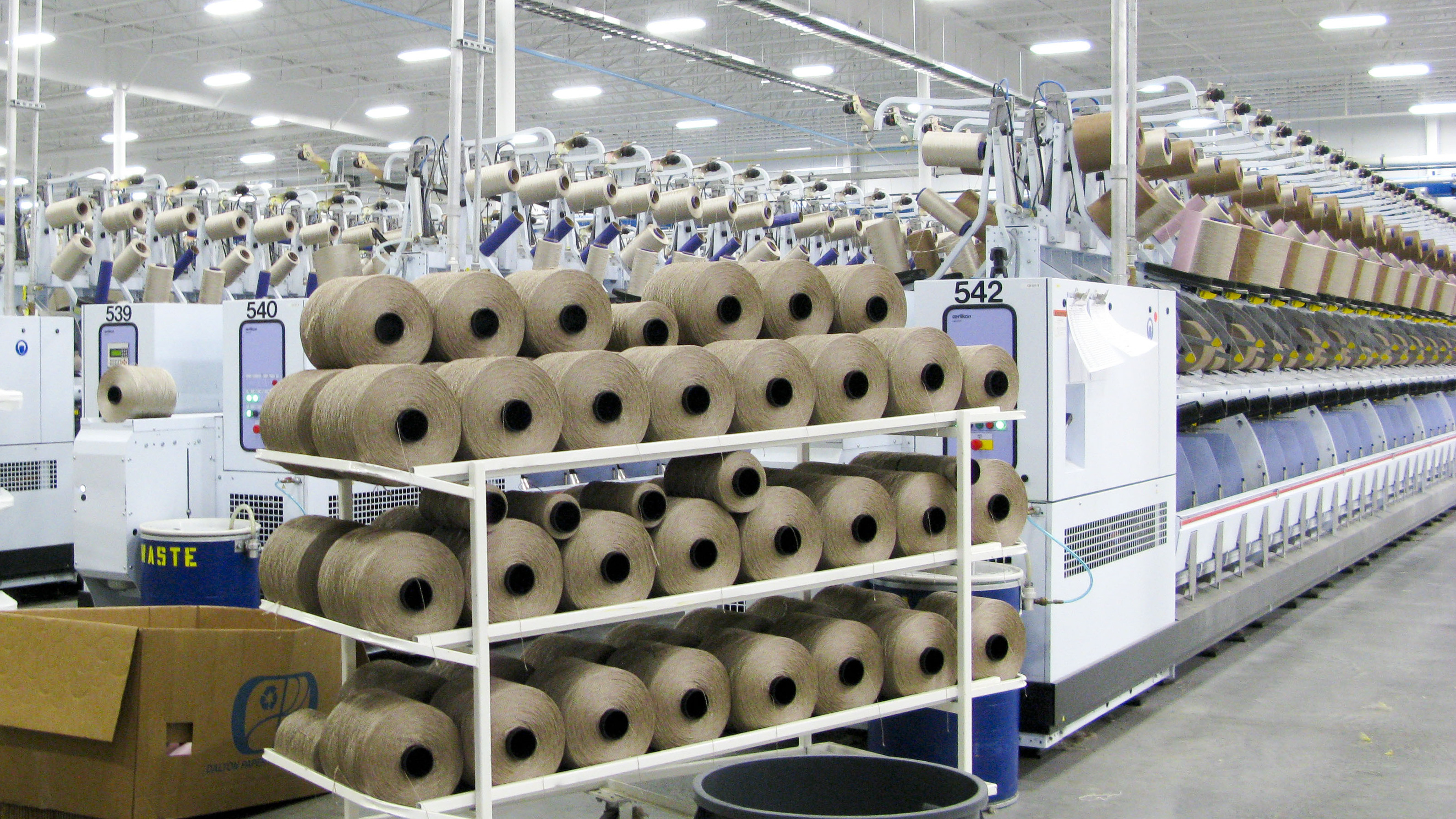 New Carpet Factories Help Cushion Blows From Recession Losses : NPR