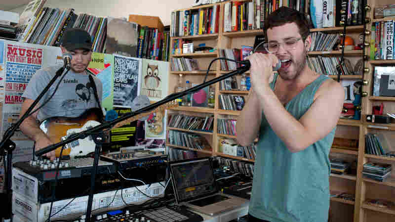 Baths performs a Tiny Desk Concert in June 2013.