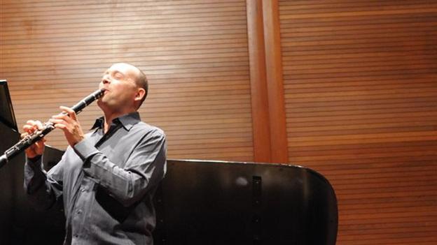 Composer and clarinetist Derek Bermel. (courtesy of the artist)